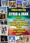 Poster for public meeting, 7 September