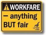 Workfare beermat