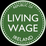 Living wage decal