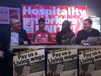 Living Wage meet
