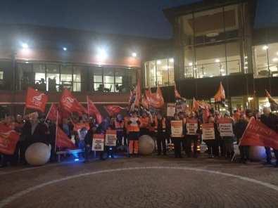 Craigavon protest